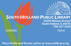South Holland Library Card