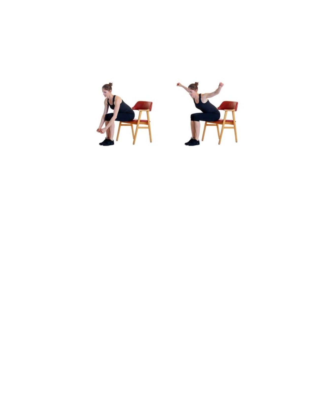 Homebody Workout: Chair Aerobics - July