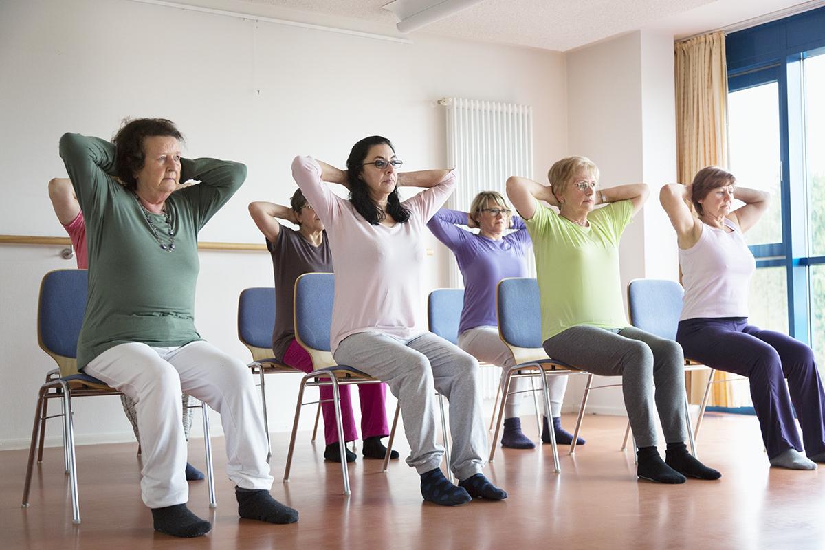 Chair Yoga-October